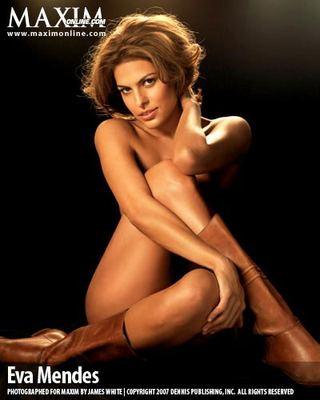 Eva Mendes przerażona sceną erotyczną (VIDEO)