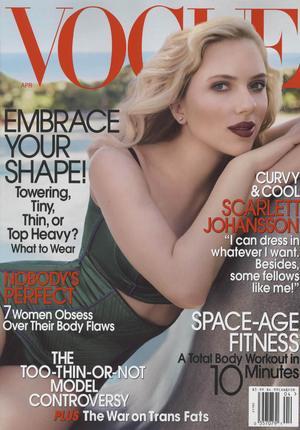 Scarlett Johansson w Vogue