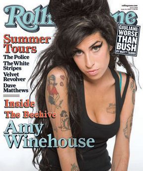 Amy Winehouse czaruje