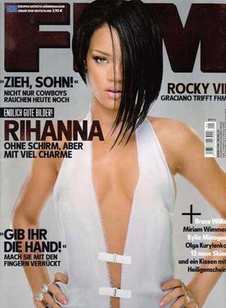 Rihanna w niemieckiem FHM