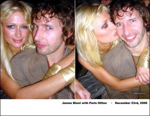 Paris Hilton i James Blunt razem?