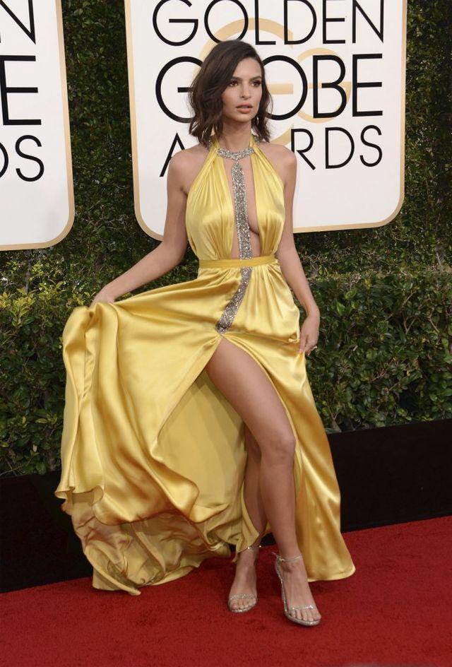 WOW! Te gwiazdy poczuły się w Złotych Globach jak na pokazie mody (FOTO)