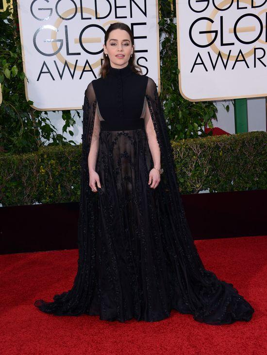 Emilia Clarke zdob�dzie tytu� najgorzej ubranej na Globach?