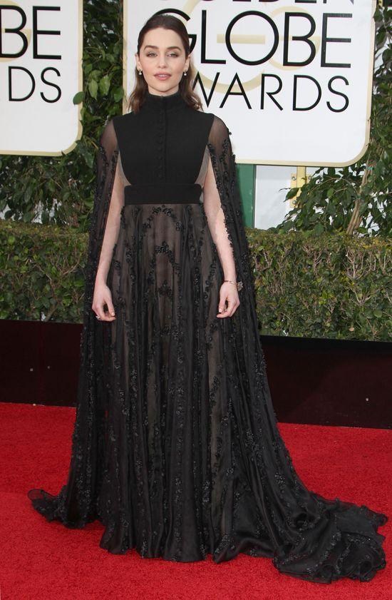 Emilia Clarke zdobędzie tytuł najgorzej ubranej na Globach?
