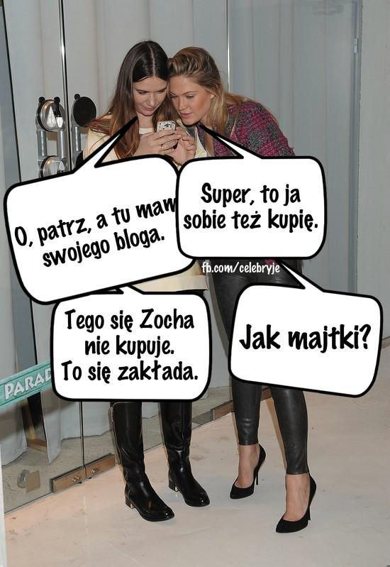 Czy Viola Kołakowska krytykuje ciążowego bloga Zosi Ślotały?