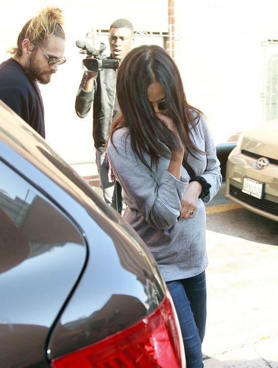 Tak wygląda Zoe Saldana miesiąc po urodzeniu bliźniaków