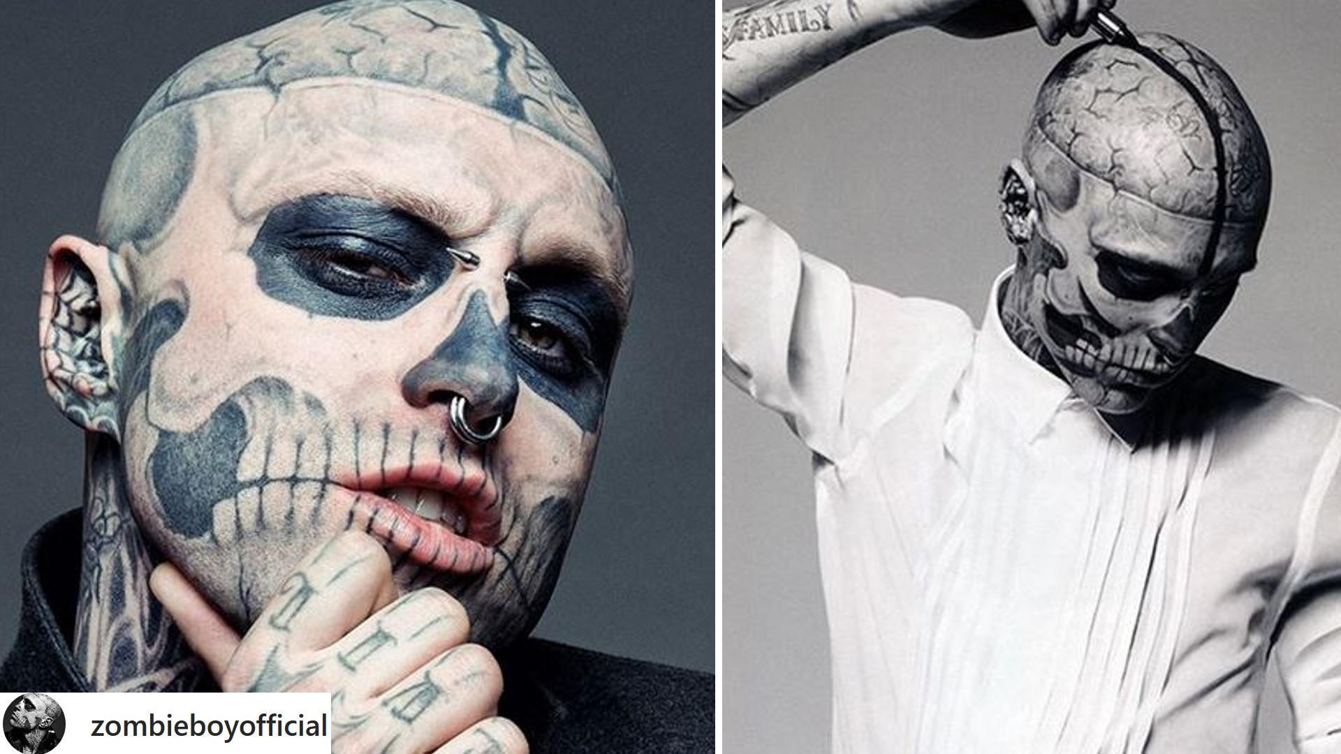 Zombie Boy, model znany z teledysku Lady Gagi, popełnił SAMOBÓJSTWO