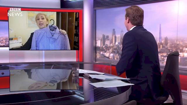 Najpopularniejsza przeróbka viralu z BBC jest... seksistowska?