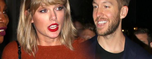 Pijana Taylor Swift zostawiała Calvinowi Harrisowi dziwną wiadomość