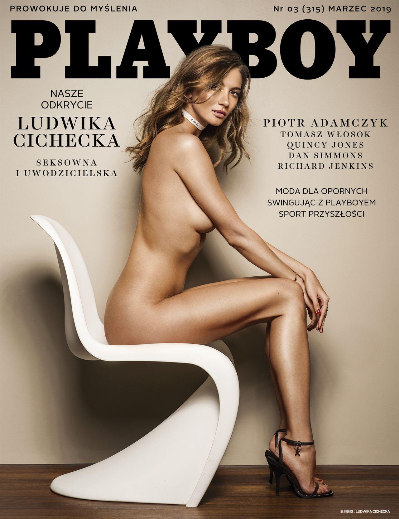 Ludwika Cichecka na okładce Playboya - ma szansę zostać nową celebrytką?