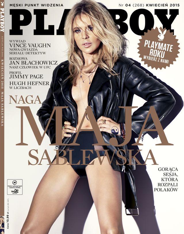 Dlaczego Maja Sablewska rozebrała się dla Playboya? (FOTO)
