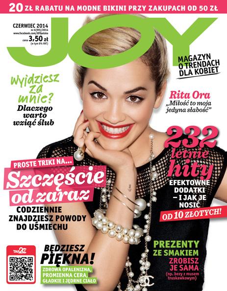 Rita Ora i Patrycja Kazadi w nowym Joy'u (FOTO)
