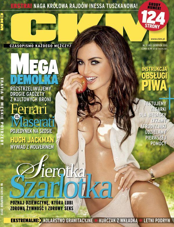 Julia Kamińska rozebrała się dla magazynu CKM!