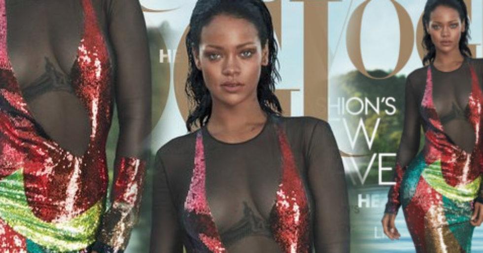 4a0814b416 Rihanna zdradza prawdę o związku z Drakem (FOTO) - Kozaczek
