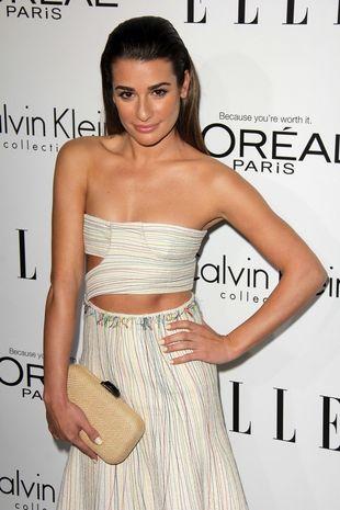 Lea Michele chwali się swoim ciałem  (FOTO)