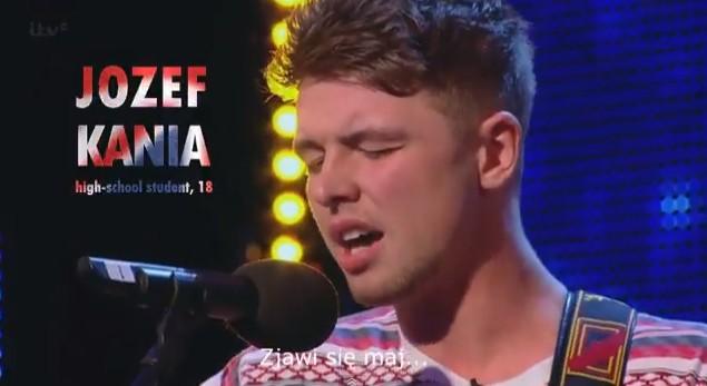 Polak w brytyjskim Mam Talent! (VIDEO)