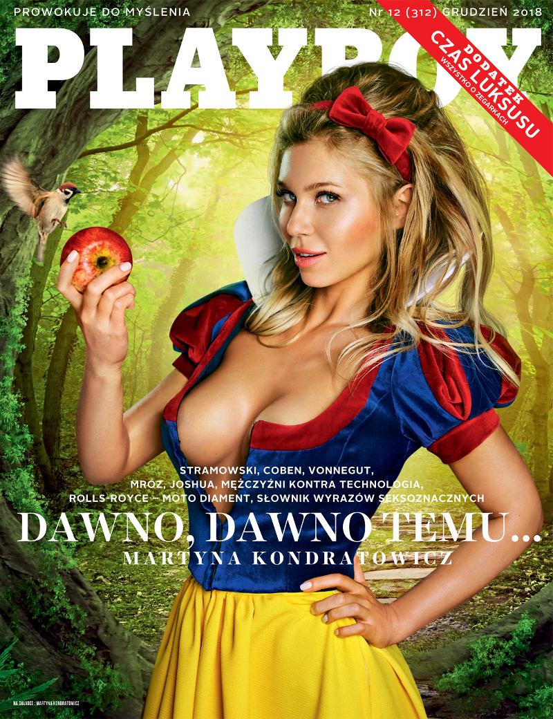 Prezenterka TV rozebrała się dla Playboya!
