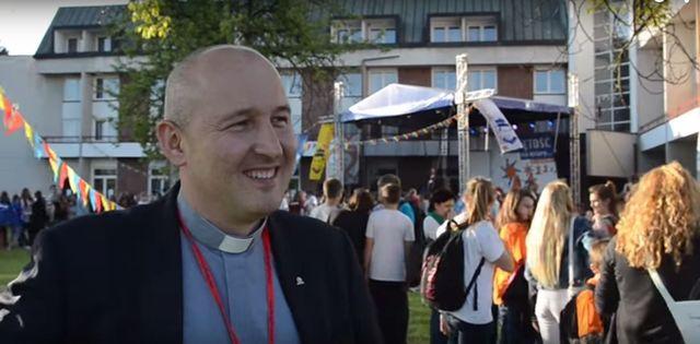 Ks.Kijowski, rzecznik Światowych Dni Młodzieży, będzie ojcem