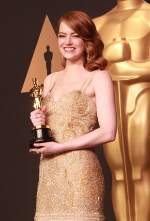 Oscary 2017: Emma Stone reaguje na wpadkę Warrena Beatty'ego!
