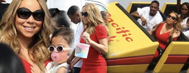 Mariah Carey – sobota z dziećmi (FOTO)