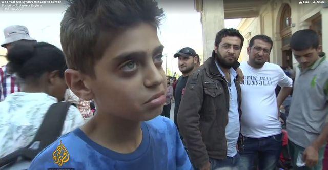 Apel tego 13-letniego Syryjczyka stał się hitem sieci VIDEO