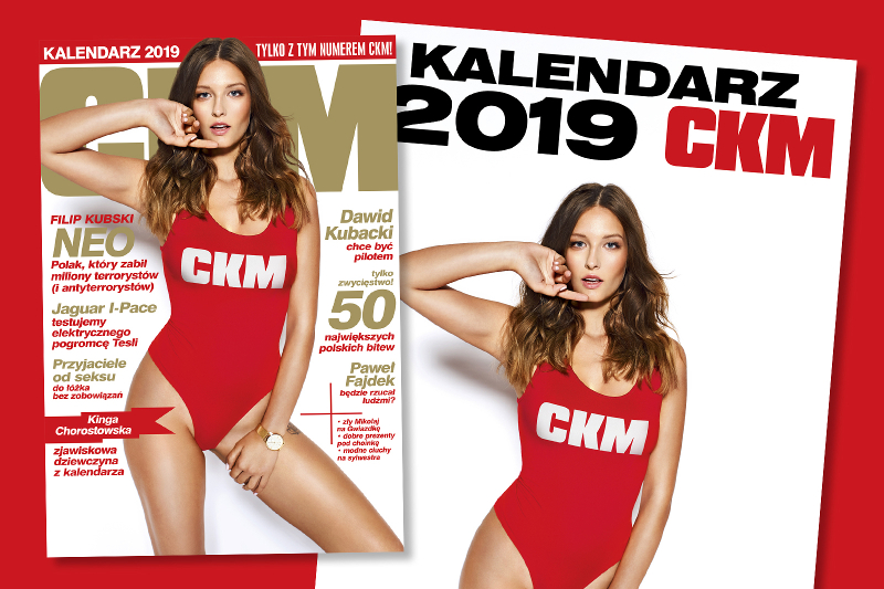 Ola Ciupa i Paula Tumala w kalendarzu CKM