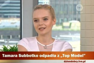 Tamara Subbotko z Top Model posądzana o kiepski look (VIDEO)