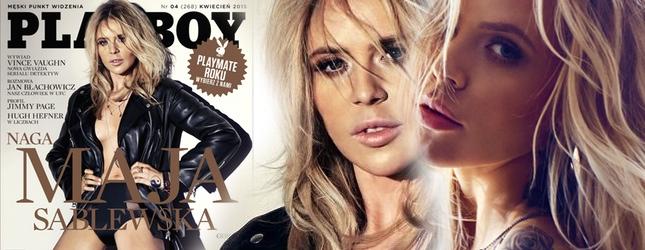 Mamy pierwsze zdjęcia Mai Sablewskiej z Playboya!