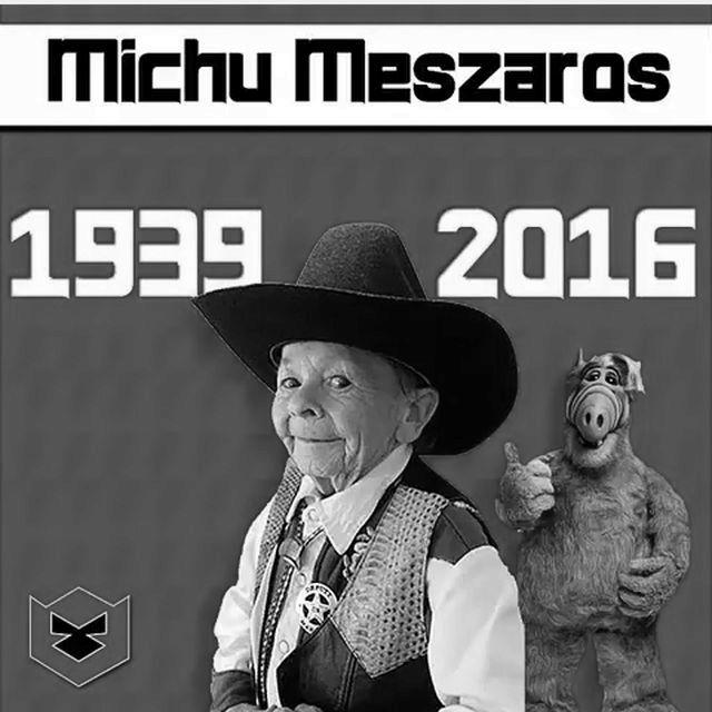 Nie żyje Michu Meszaros, aktor wcielający się w postać Alfa! (VIDEO)