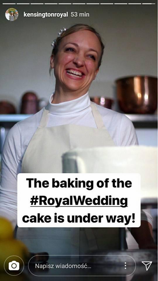 Tak wygląda TORT ślubny Megan i Harry'ego!