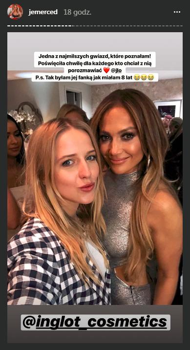 Mercedes spotkała Jennifer Lopez. Padły mocne słowa