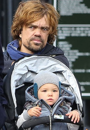 Peter Dinklage i jego piękna córeczka Zelig (FOTO)