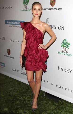Co powiecie na Rosie Huntington-Whiteley bez makijażu? FOTO
