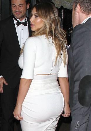 Wielka pupa Kim Kardashian narobiła zamieszania (VIDEO)