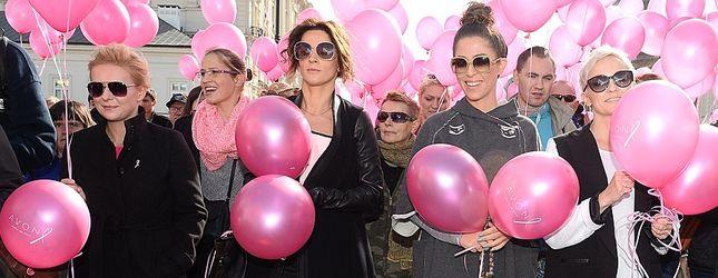 Kogo wypatrzyliśmy na Marszu Różowej Wstążki? (FOTO)