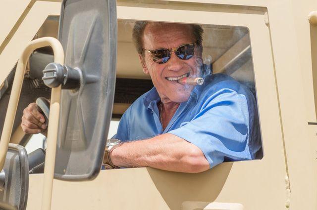 Arnold Schwarzenegger został zaatakowany przez... SŁONIA! (VIDEO)