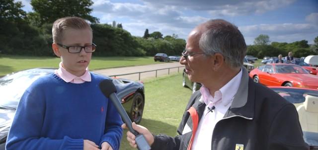 Najmłodszy (12-letni) posiadacz Ferrari (VIDEO)