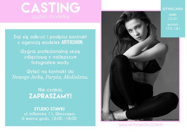 Zgłoś się na casting i zostań modelką!