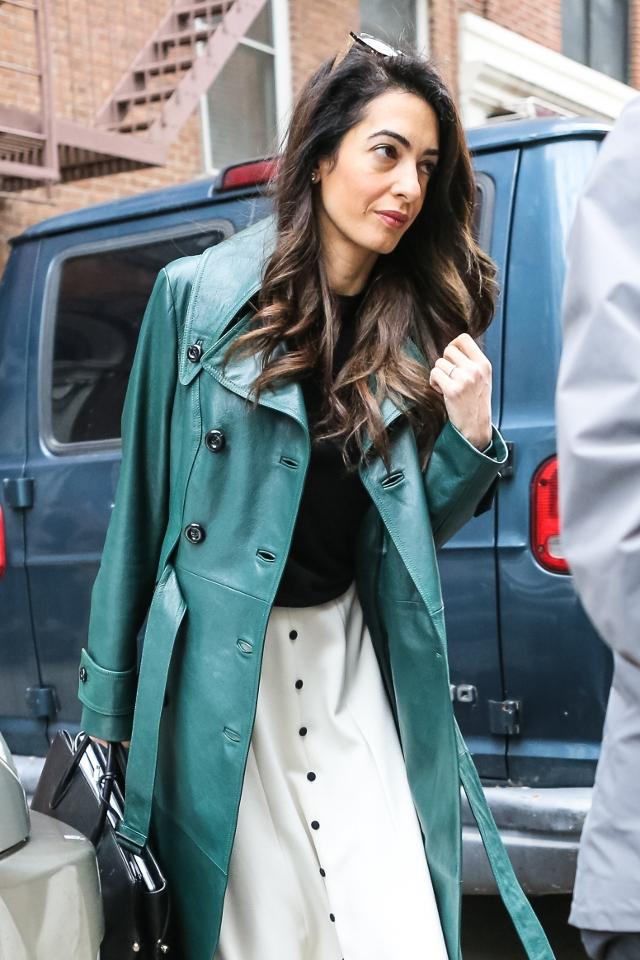 Wychudzona żona Clooneya. Jej wygląd szokuje