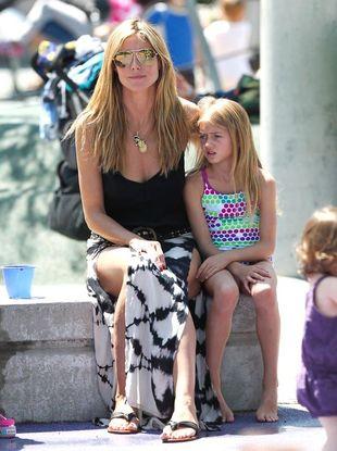 Heidi Klum z dziećmi i partnerem  (FOTO)