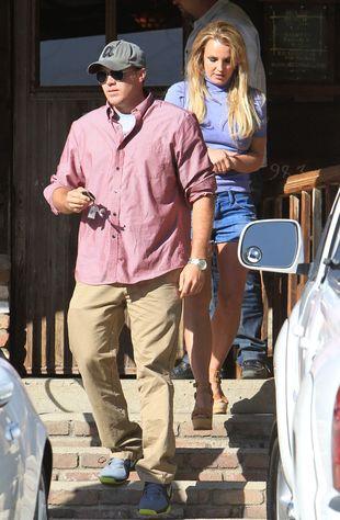 Britney Spears i David Lucado na randce (FOTO)