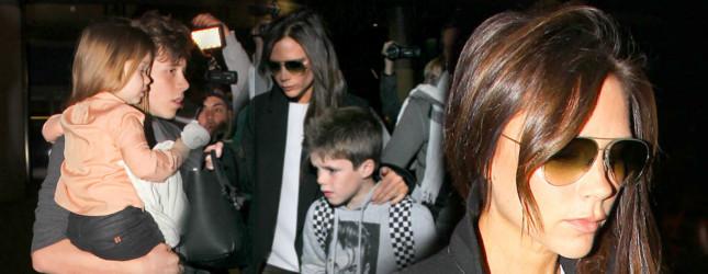 Victoria Beckham opiekę nad Harper powierzyła synowi