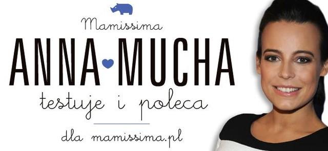 Anna Mucha testuje dla Mamissima.pl