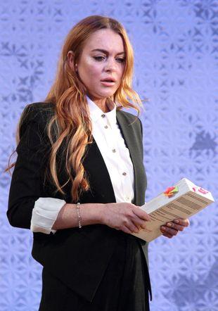 Wywiad Lindsay Lohan w rosyjskiej TV? OK, ale musi się zjawić Władimir Putin!