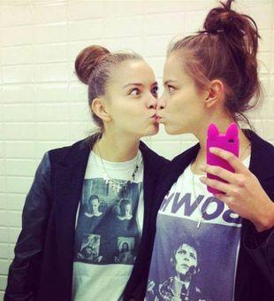 Zuza Kołodziejczyk z Top Model promuje siostrę? (FOTO+VIDEO)