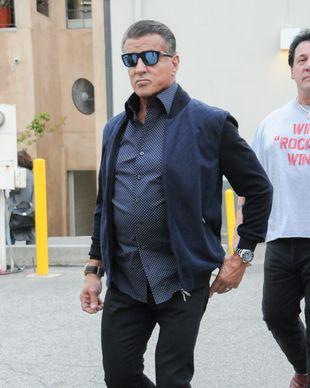 Sylvester Stallone spróbował pilates ze swojącórką i… (FOTO)