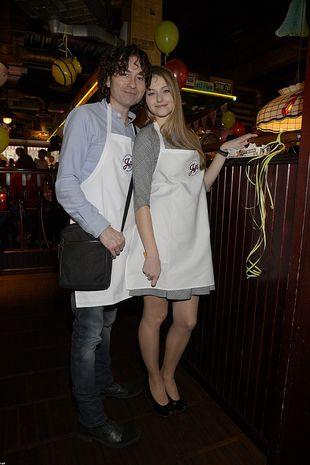 Agata i Piotr Rubik zabrali córeczkę na salony (FOTO)