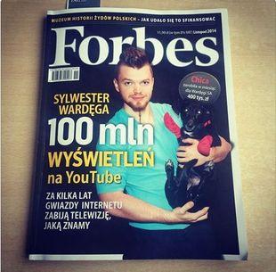 Forbes policzył, ile tak naprawdę zarobił Wardęga