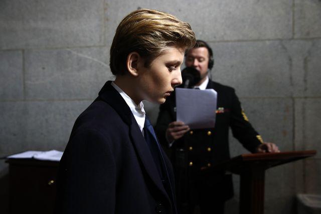 Znana aktorka obraziła… 10-letniego synka Donalda Trumpa!