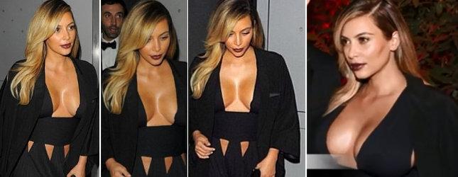 Z Kim Kardashian zrobiło się prawdziwe ciacho! (FOTO)